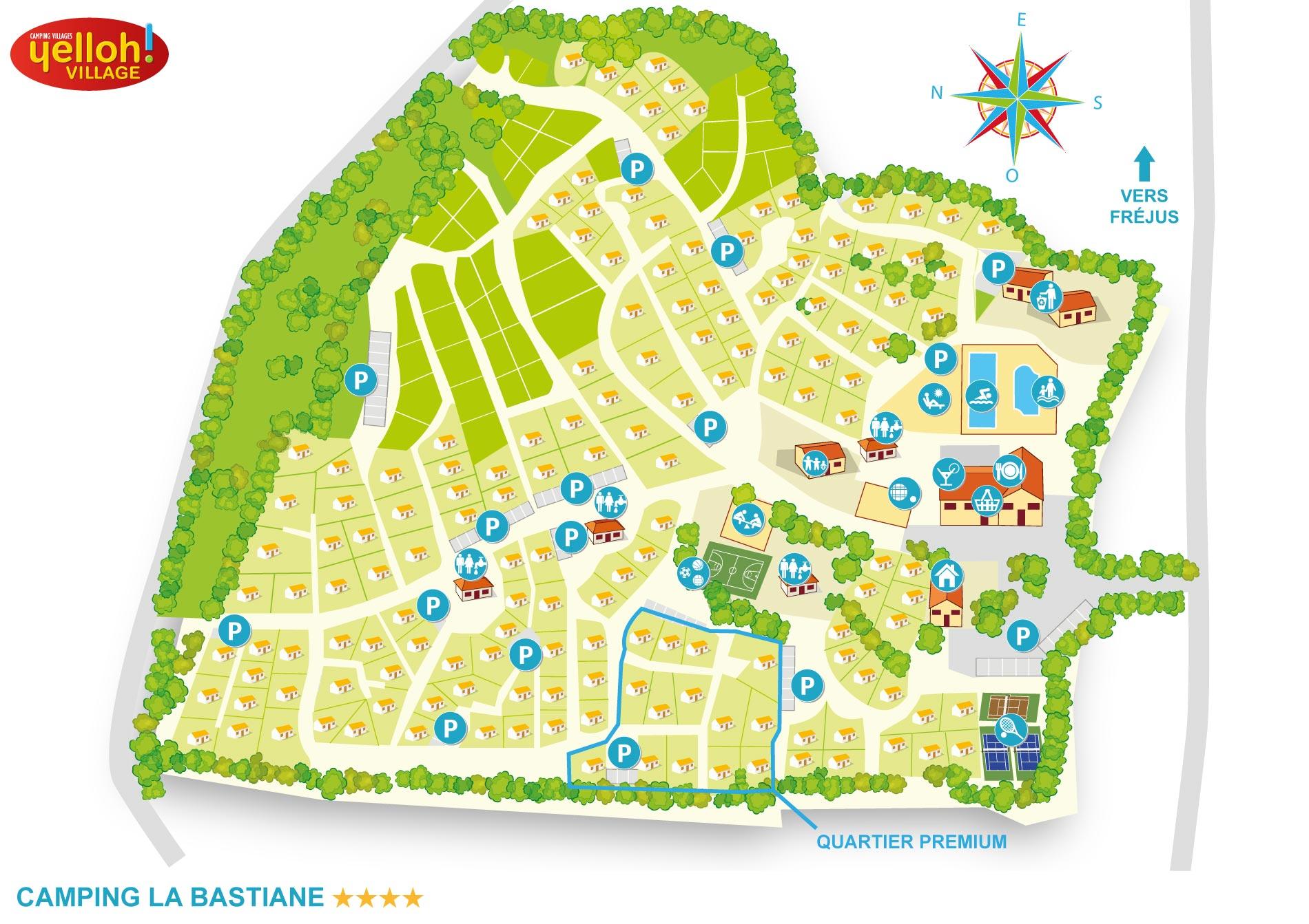 Camping La Bastiane ***** Yelloh! Village in Puget-sur-Argens